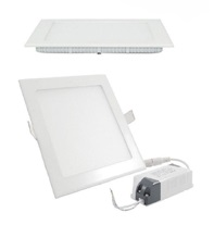 Projectores de Tecto Falso Downlight Quadrado 295x295x20mm, 1680lm, 24W, 4200K com Transformador
