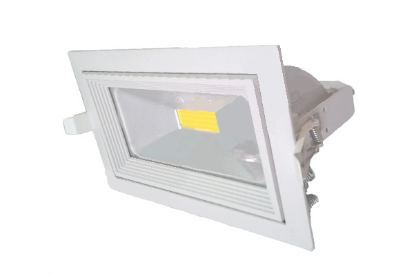 Projectores de Tecto Falso LED 235x145mm 30W Neutro